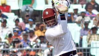 South Africa vs West Indies 2014-15: Marlon Samuels and Kraigg Brathwaite bring up 50-run stand for third wicket