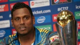 Angelo Mathews: Happy to enter the ICC Champions Trophy 2017 as underdogs