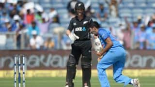 India edge out New Zealand by 6 wickets; square series 1-1