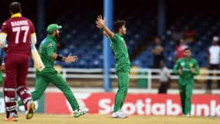 PAK vs WI, 2nd T20I: Shadab's 4-for helps visitors clinch a last ball thriller