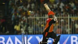 Kolkata Knight Riders (KKR) vs Mumbai Indians (MI), IPL 2015 Match 1: Aaron Finch out early