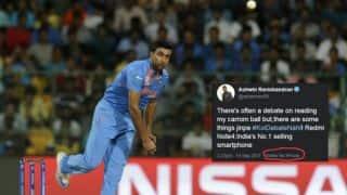 Ravichandran Ashwin trolled for unintentional cross-promotion of mobile brands
