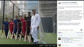 Kyle Christie: The cricketer who debuted via Facebook
