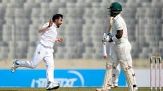 Ervine ton keeps Zimbabwe on par with Bangladesh