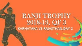 Ranji Trophy 2018-19, Quarter-final 3, Day 2: Vinay Kumar's unbeaten 83 helps Karnataka take slender lead