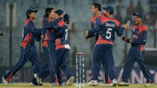 Nep 106/1 in 36 overs | Live Cricket Score, Hong Kong vs Nepal 2015, two-day match, Day 1