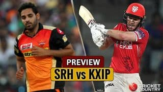Sunrisers Hyderabad (SRH) vs Kings XI Punjab  (KXIP) Match 19, Preview: SRH, KXIP eye victory after consecutive losses