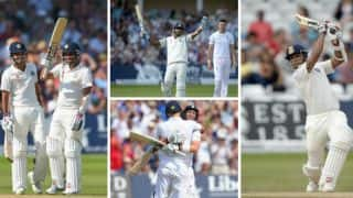 India, England settle for draw in seesaw 1st Test at Trent Bridge