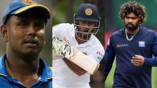 PCB worried as senior Sri Lanka players Karunaratne, Malinga and Matthews refuse to tour Pakistan