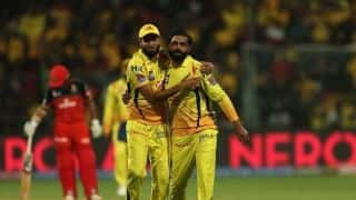 IPL 2019, RCB vs CSK: Chennai Super Kings restrict Royal Challengers Bangalore to 161/7
