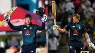 1st ODI: Roy, Root centuries guide England home in record chase