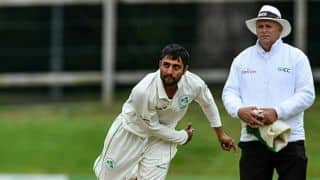 Ireland off spinner Simi Singh brings in a whole new variety to his bowling – leg spin