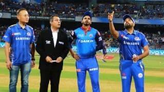 मुंबई ने टॉस जीतकर दिल्ली को पहले बल्लेबाजी के लिए किया आमंत्रित