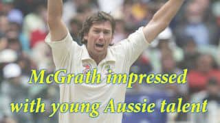 Glenn McGrath impressed with young Australian bowlers at MRF Pace Foundation