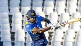 Angelo Mathews plays a captain's knock, takes Sri Lanka to 299/8