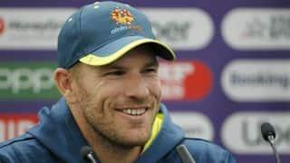 Australian captain Aaron Finch targets T20 World Cup return after knee surgery
