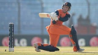England vs Netherlands ICC World T20 2014 Group 1 Match 29: Stephan Myburgh leads Netherlands' charge