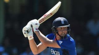 New Zealand vs England, ICC Cricket World Cup 2015 Pool A Match 9 at Wellington: New Zealand vs England, ICC Cricket World Cup 2015 Pool A Match 9 at Wellington: Gary Ballance out for 10