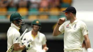 The Ashes 2017-18: Steven Smith's wicket crucial for England's success in day-night Test at Adelaide, believes James Anderson