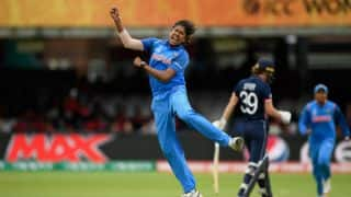 Jhulan's 3-for throttles ENG to 228/7; IND need 229 to lift maiden WC