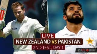 Live Cricket Score, New Zealand vs Pakistan, 2nd Test:
