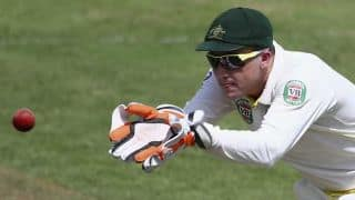 Pakistan vs Australia 2014: Brad Haddin feels he will be able to bat despite injury