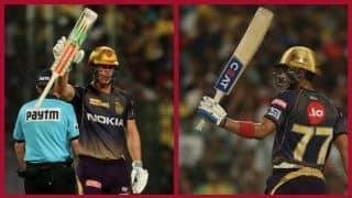 रसेल, गिल और लिन के अर्धशतक, कोलकाता ने बनाए 2 विकेट पर 232 रन