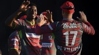 Mzansi Super League 2018: Tshwane Spartans beat Paarl Rocks by one run in a run feast