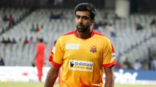 Ravichandran Ashwin looses cool during a TNPL Match