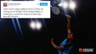 PV Sindhu wins Silver in Rio Olympics 2016: Sachin Tendulkar, Virender Sehwag, others congratulate her