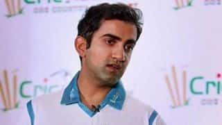 Pollution far more serious issue that hosting cricket match in New Delhi: Gautam Gambhir