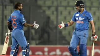 India vs UAE, Asia Cup 2016 Match 9 at Dhaka, Statistical Highlights: India's largest victory, Bhuvneshwar Kumar's double maiden, and more