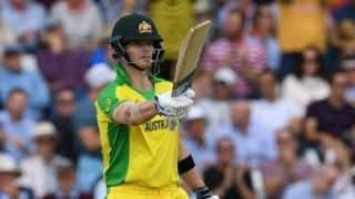 Cricket World Cup 2019: Aaron Finch hails 'world's best' Steve Smith as Australia gear up to face India
