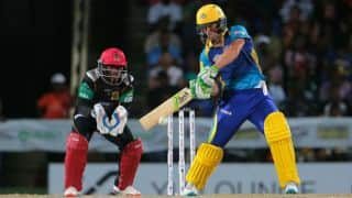 SLZ win by 7 wickets (D/L) | Live Cricket Score, SLZ vs BT, CPL 2016, Match 22 at Jamaica