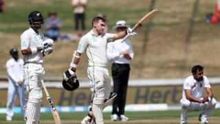 1st Test: Jeet Raval, Tom Latham hundreds pummel Bangladesh