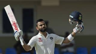 Virat Kohli's maiden double ton powers India to 404/4 at Lunch on Day 2, 1st Test vs West Indies