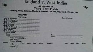 When Eleven West Indians played for England nearly vice-versa