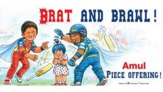 IPL 2014: Amul's ad on Kieron Pollard-Mitchell Starc's ugly spat
