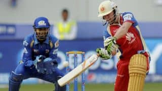 IPL 2014: Royal Challengers Bangalore (RCB) vs Mumbai Indians (MI), Match 5 at Dubai