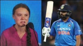 Indian vice captain Rohit Sharma calls climate activist Greta Thunberg inspiring