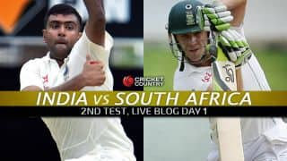 IND 80/0 | Live Cricket Score India vs South Africa 2015, 2nd Test at Bengaluru, Day 1: IND trail by 134 runs at stumps