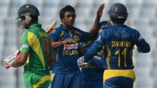 Spinners restrict Bangladesh to 204/9