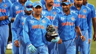 Indian Hockey team wish their cricket counterparts luck for the ICC World Cup 2015