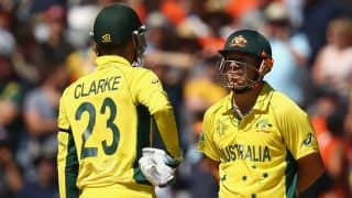 Live Cricket Score Australia vs Afghanistan ICC World Cup 2015: Australia win by 275 runs