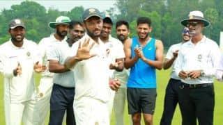 रणजी ट्रॉफी: जलज सक्सेना का दूसरा शतक, केरल को 144 रन की बढ़त