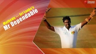 Angelo Mathews has become Sri Lanka's most dependable batsman after taking Test captaincy