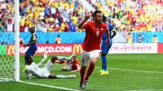 Fifa World Cup 2014: Ecuador press regret team's defeat to Switzerland