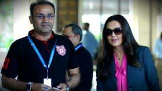 IPL 2018: Virender Sehwag's reaction after KXIP's defeat vs SRH
