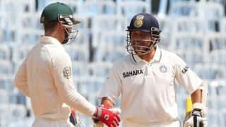 Tendulkar hits two 6 off first 2 balls to win Test