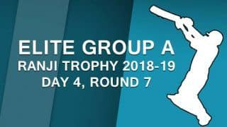 Ranji Trophy 2018-19, Elite Group A: Chhattisgarh collapse before securing draw and three points
